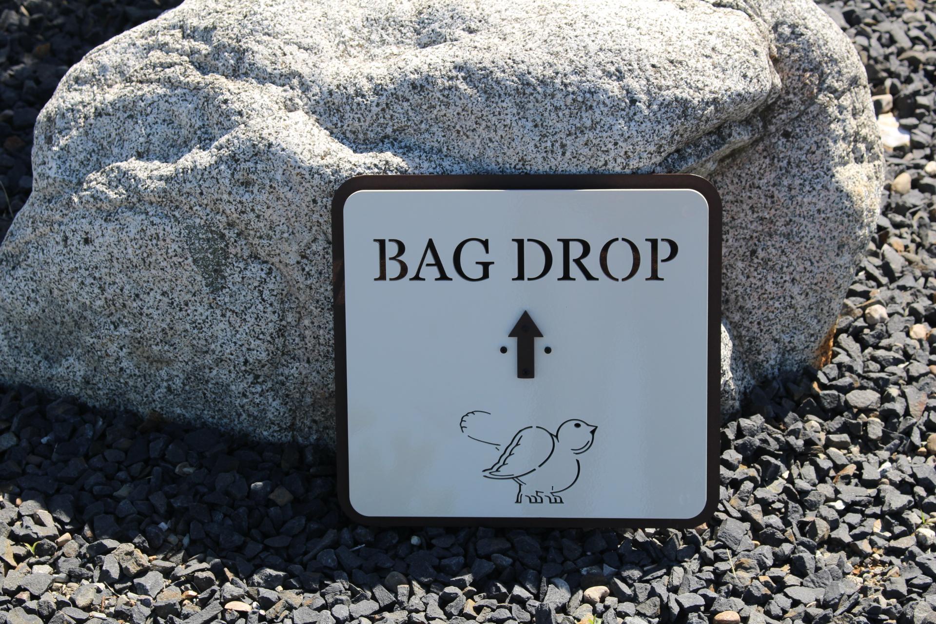 Bag Drop Signs -Nemacolin