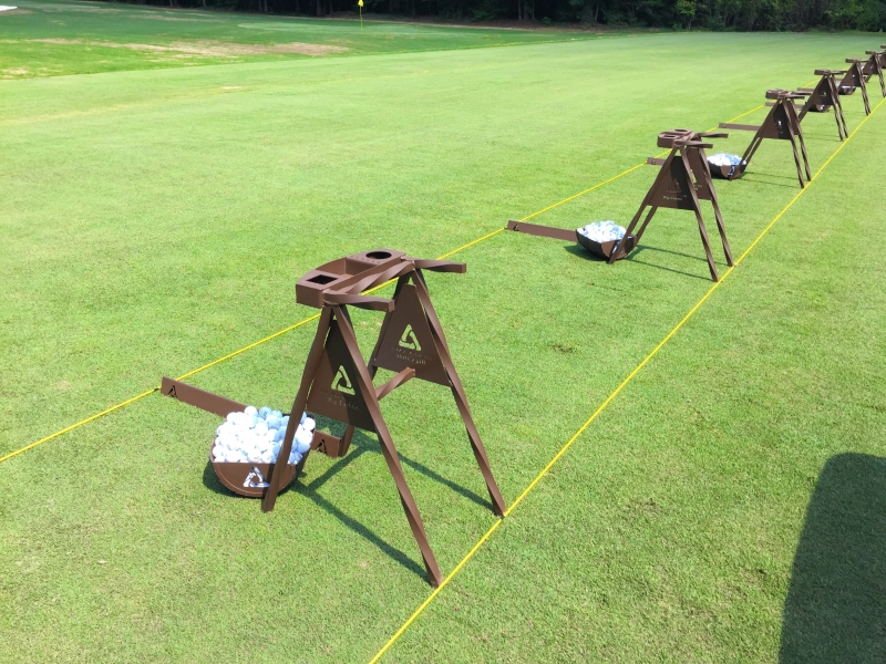 Driving Range Bag Stands BIG CANOE
