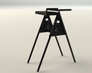 A-frame Bag Stand - rear-Southern Dunes