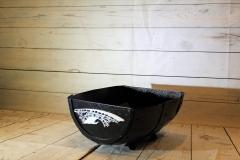 Barrel Basket for Towels -The Bridges