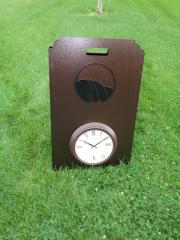 A-Frame Range Clock -Keowee Falls