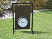 Custom Golf Clock Sign -Ptarmigan