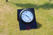 Driving Range A-frame Clock -Tetherow
