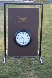 Driving Range Clock Sign -LegacyRidge