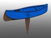 2D Canoe Tee Marker