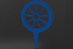 Wheel Tee Marker Tee Marker
