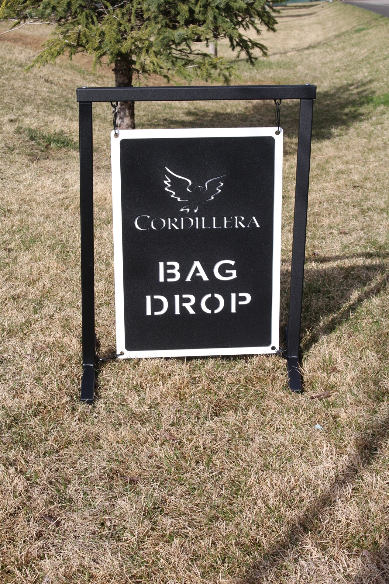 Bag Drop SIgn -Cordillera