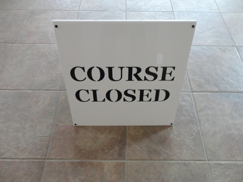 Custom Golf Course Sign -Philadelphia
