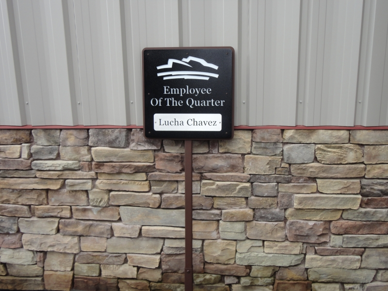 Custom Golf Course Signage -Parking Lot