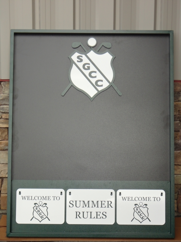 Custom Information Board -Skagit