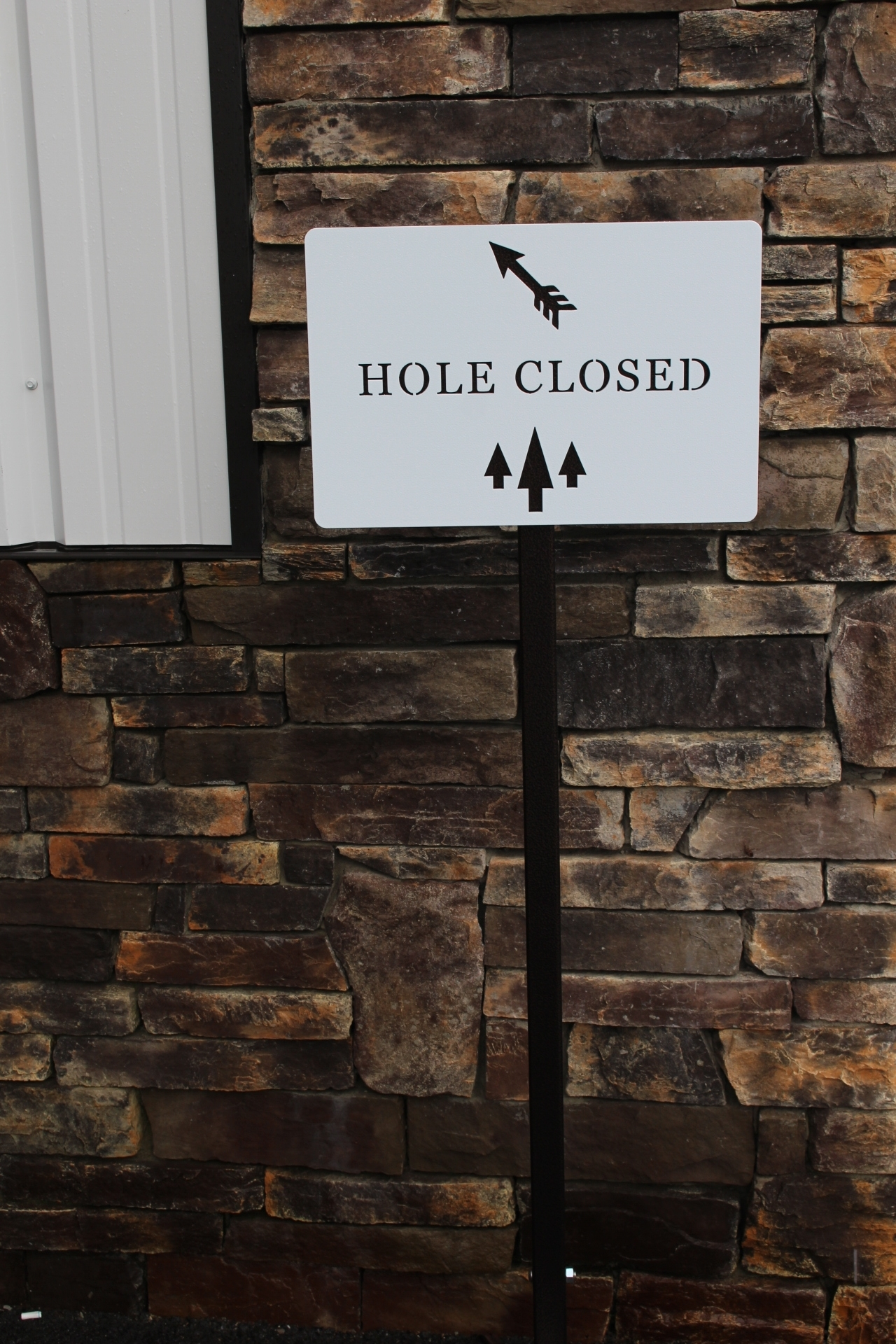 Directional Sign for GOlf Courses -The Northwood Club