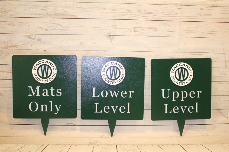 Directional Signs -Wacabuc