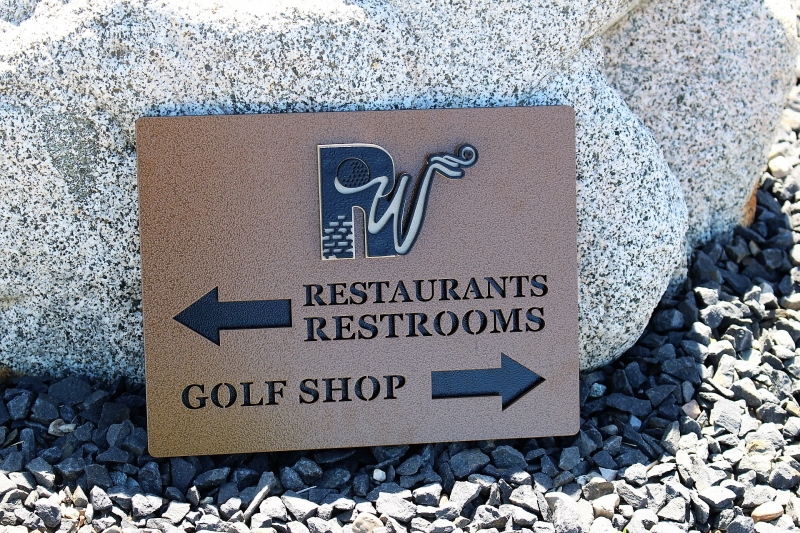 Golf Course Signs -Rockwind