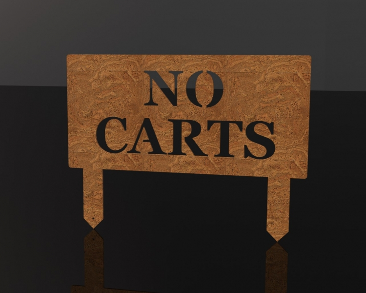 No Carts - Upright