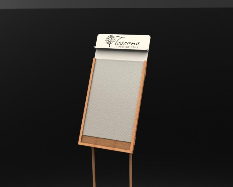 Plexiglas Information Sign- Toscana