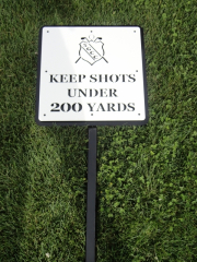 Golf Course Signage -Skagit