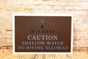 Pool Signs -Mirabel 3