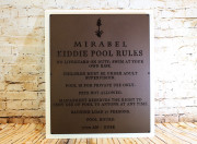 Pool Signs -Mirabel