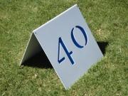 A-Frame Yardage Sign