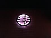 Backlit Hayden Sign