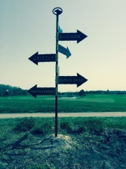 Bear Trap Dunes Directional Signs