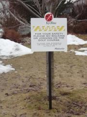 Custom Golf Course Directional Sign -Ko Olina
