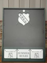 Custom Information Board -Skagit