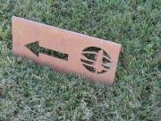 Directional Sign- Hayden CC