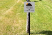 Golf Course Directional Signs -PGA West