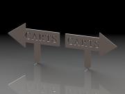 Left & Right Carts Arrows