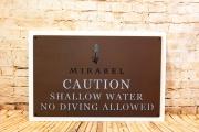 Pool Signs -Mirabel 3