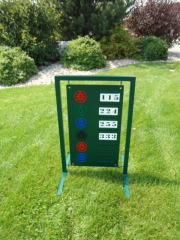 Driving Range Sign -Argyle