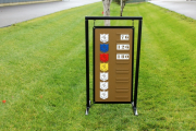 Driving Range Sign -Brier Creek