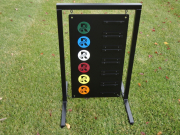 Driving Range Yardage Sign- Keystone Ranch