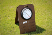 Driving Range Yardage Sign