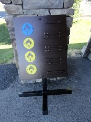 Golf Driving Range Sign -Castle Pines