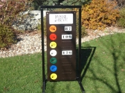 Golf Driving Range Sign -Fossil Trace
