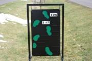 Hanging Range Layout Signs -Blue Jack National