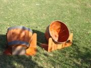 Driving Range Targets -Wine Barrels