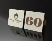 Driving Range Yardage Targets -Spanish Oaks