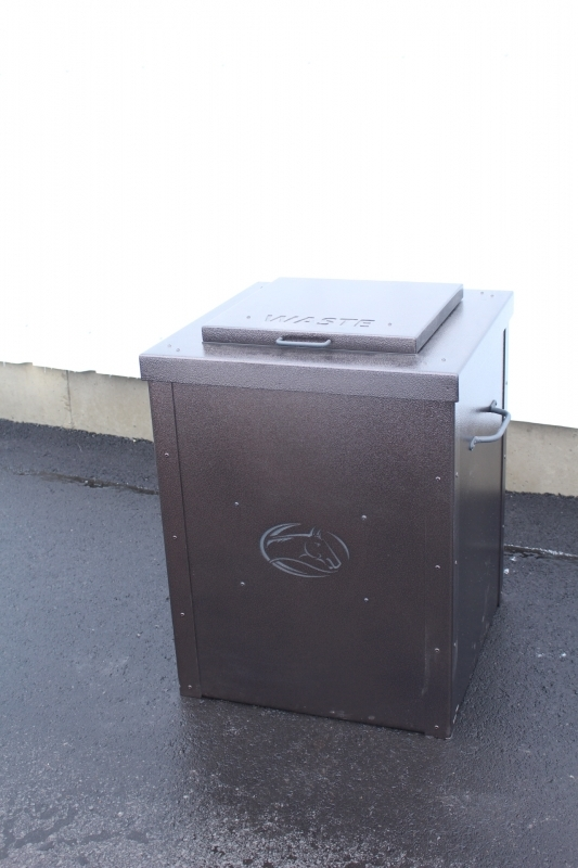 Garbage Can Enclosure -Old Hawthorn