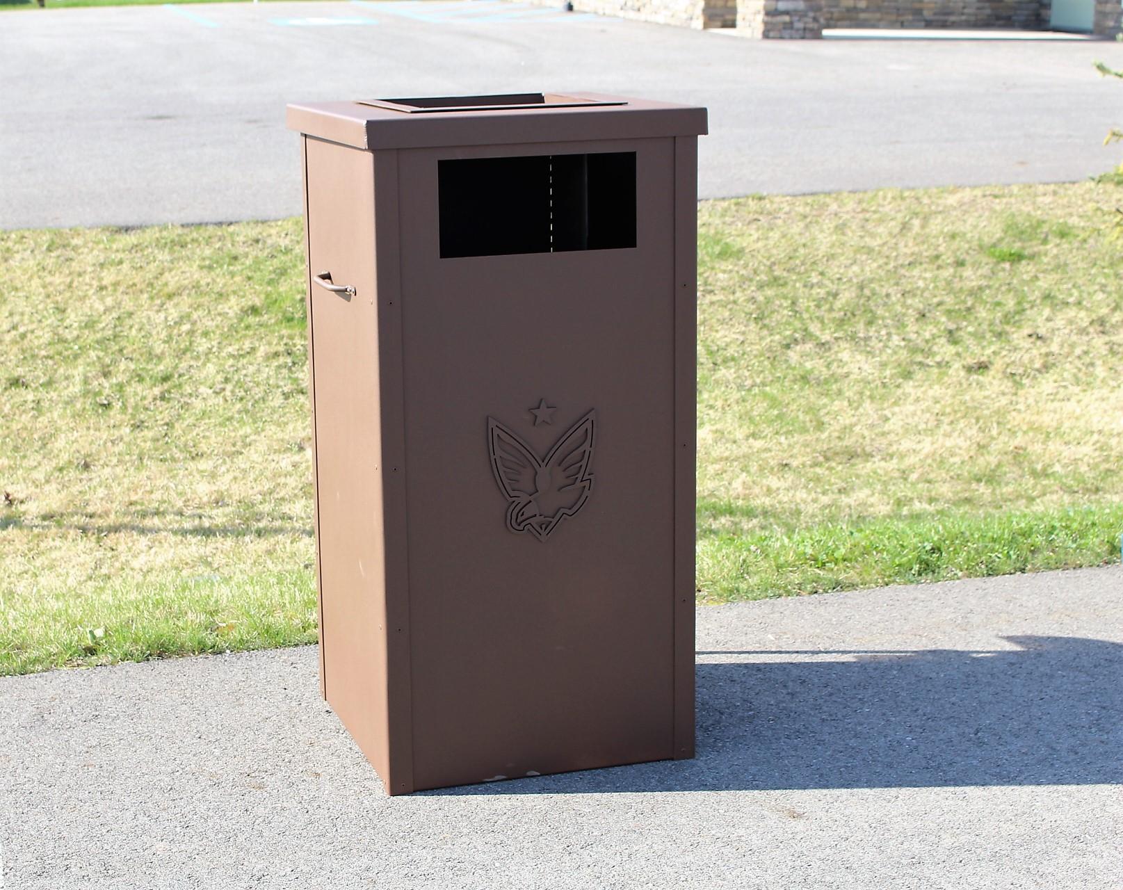 Garbage Can Enclosure -The Patriot
