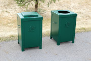 Driving Range Trash Enclosures -Mayacama