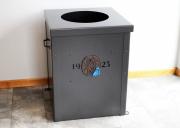 Garbage Can Enclosure -Green Brook