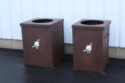 Garbage Can Enclosures -Troon CC