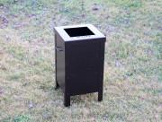 Small Trash Enclosure -Desert Highlands