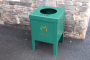 Trash Can Enclosures for Golf Courses -Lochinvar