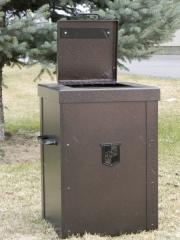 Custom Trash Can Shell - HillCrest Country Club