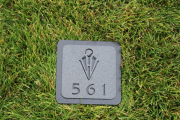 Golf Yardage Plates