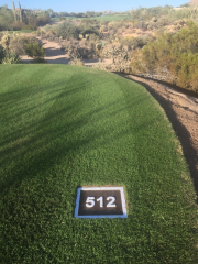 Yardage Plates -Troon Country Club
